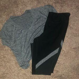 Pants - Workout Pants and T-shirt